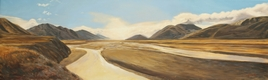 oil on linen <br> 600 x 2000 mm <br> $4400
