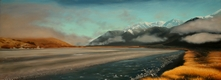 oil on linen <br> 650 x 1750 mm <br> SOLD